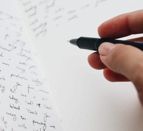 Écrire, c'est… (ce serait…)